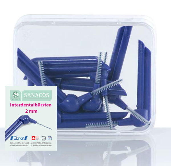 "Interdentalbürsten ""2mm"" 10 St. BOX"