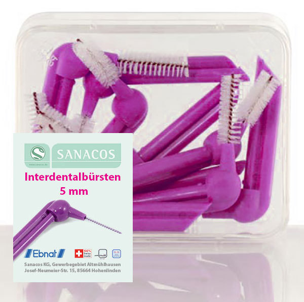 "Interdentalbürsten ""5mm"" 10 St. BOX"